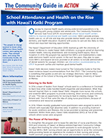 First page of the Hawai`i Keiki School-based Health Centers In Action story