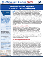 First page of the Montana Public Health In Action story